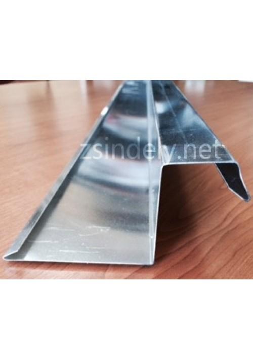 Oromszegély lemez, alumínium