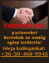 Csatlakozzon sikeres viszonteladói csapatunkhoz!! +36-30-468-9945