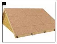 zsindely felrakás, tetőfelület előkészítése